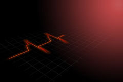 Heart rhythm Royalty Free Stock Image