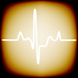 Heart rhythm Royalty Free Stock Photo