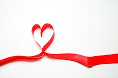 Heart Ribbon stock image