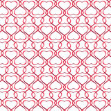 Heart ribbon background Royalty Free Stock Photography