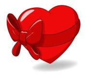 Free Heart Ribbon Bow St Valentines Day Royalty Free Stock Photo - 17525965