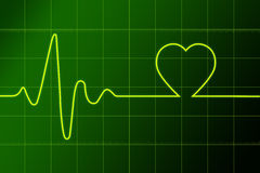 Heart ritm Stock Images