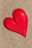 Heart rock Royalty Free Stock Images