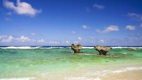 The Heart Rock, Kouri Jima. Royalty Free Stock Image