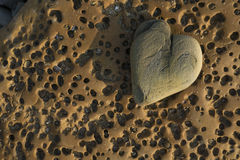 Heart rock Stock Photos