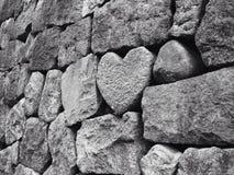Heart Rock Royalty Free Stock Photography