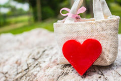 Heart on the rocks Royalty Free Stock Photography
