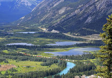 In heart Rocky Mountains Stock Photography
