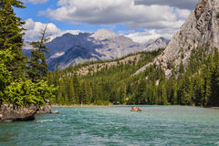 In heart of the Rocky Mountains Royalty Free Stock Photography