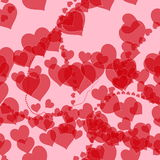 Heart romance valentines background Stock Photography