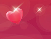 Heart romantic red vector background Stock Photo