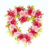 Heart rose Stock Images