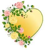 Heart of roses Royalty Free Stock Photos