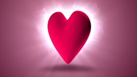 Heart rotating Stock Photo