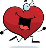 Heart Running Royalty Free Stock Photo