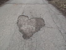 Heart of Russian roads royalty free stock photography