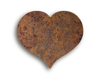 Heart of rust Royalty Free Stock Images