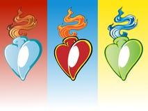 Heart's Royalty Free Stock Photo