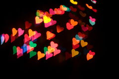 Heart's background. Colorful Heart's background on day valentines Royalty Free Stock Images