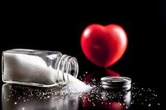 Heart Of Salt Royalty Free Stock Image