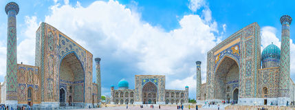 The heart of Samarkand stock images