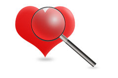 Heart Scanning Stock Photo