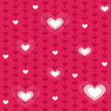 Heart seamless Royalty Free Stock Image