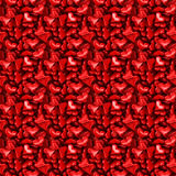 Heart Seamless. Background with beautiful red hearts Royalty Free Stock Photography