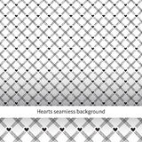 Heart seamless diagonal background. Stock Photo