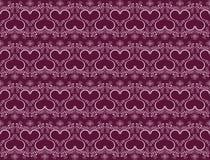 Heart seamless pattern Royalty Free Stock Photo