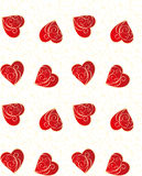 Heart seamless pattern Stock Photo