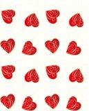 Heart seamless pattern Stock Photo
