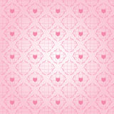 Heart Seamless Pattern Royalty Free Stock Photo