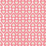 Heart seamless pattern Royalty Free Stock Photography