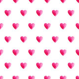 Heart seamless pattern Stock Photography