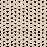 Heart seamless patterns on shabby background. Royalty Free Stock Photography