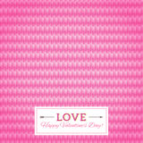 Heart seamless vector background. Happy Valentine's Day Card. Se Royalty Free Stock Photography