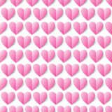 Heart seamless vector background. Seamless pattern can be used f Stock Image