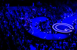 Heart at Selena Gomez Concert Torotno Royalty Free Stock Image