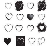 Heart set Royalty Free Stock Photography