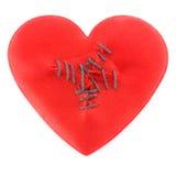 Heart sewn Stock Photos