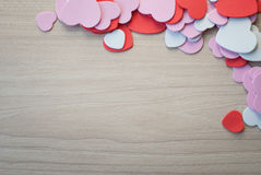 Heart shap background Royalty Free Stock Photos