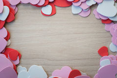 Heart shap background Royalty Free Stock Image