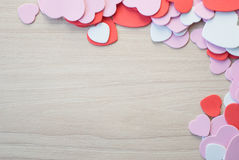 Heart shap background Stock Images