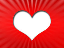 Heart shape Stock Image