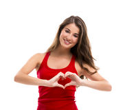 Heart shape Royalty Free Stock Photo