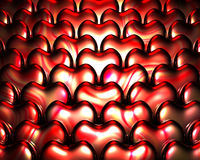 Heart Shape background. Heart Shape elegant romantic background with beautiful light reflections Royalty Free Stock Photography