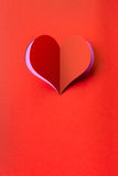 Heart shape background. Useful as postcard or greeting card Royalty Free Stock Photography