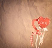 Heart shape with background Stock Images
