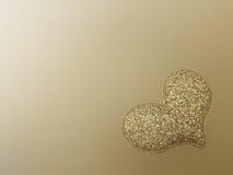 Heart shape background Stock Image